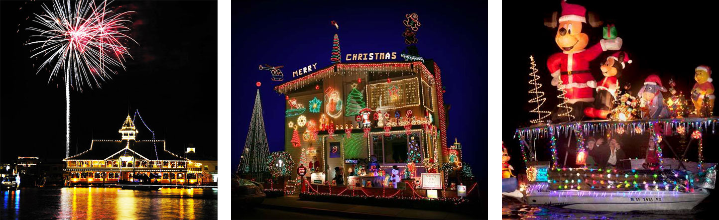Newport Beach Christmas Lights Cruise.Newport Boat Parade Holiday Cruises Ocean Explorer